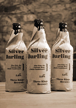 Bottles of Silver Darling Beer